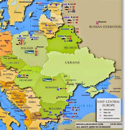map russia eastern europe armed forces in eurasia russian threat of separatism in
