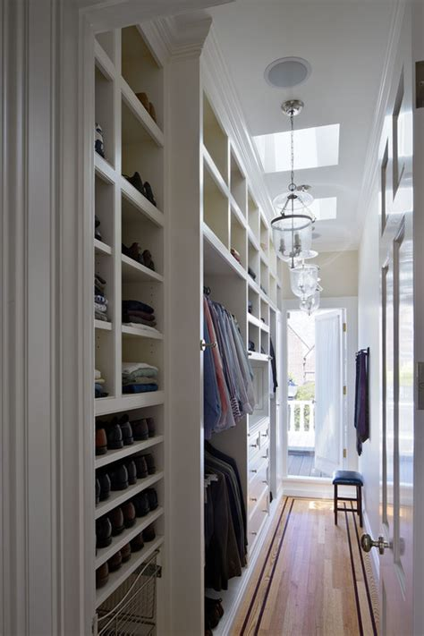 Narrow Closet Ideas by 20 Walk In Wardrobe Inspirations Jewelpie