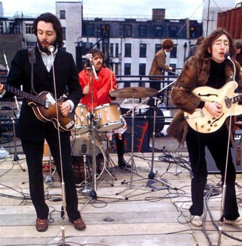 the beatles don t let me down rooftop beatles rooftop concert 1969 documentary film john paul