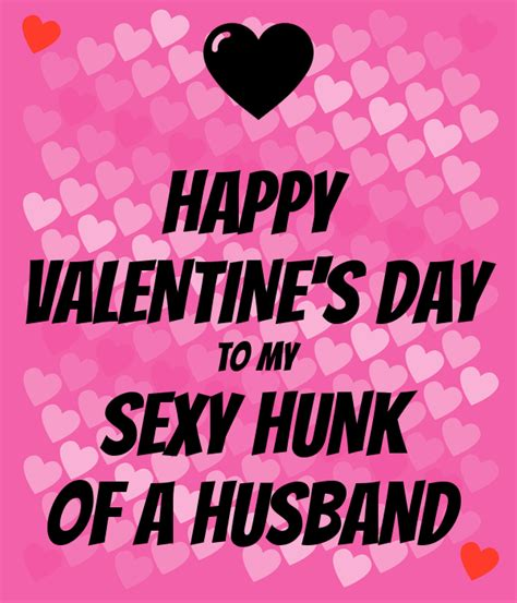 s day to husband happy s day to my hunk of a husband poster
