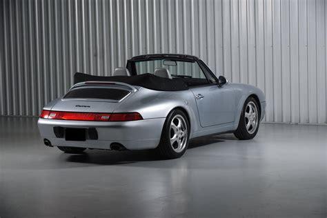 1995 porsche 911 cabriolet 1995 porsche 911 cabriolet 993 polar silver