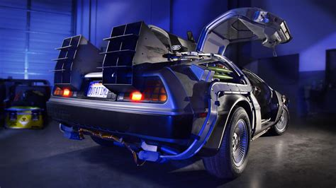 delorean museum the back to the future delorean will be at the petersen
