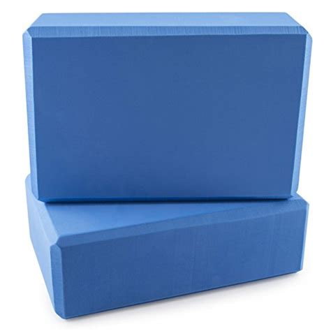 Foam Blocks 2 Pack Blue peace foam exercise blocks blue 9 quot x 6 quot x 3 quot 2