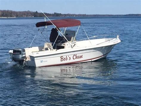center console boats dealers wellcraft 21 center console 1991 used boat for sale in