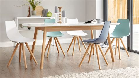 White Dining Tables Uk White Oak Table 8 Seater Extending Dining Table