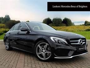 mercedes c class c200 d amg line premium black 2016