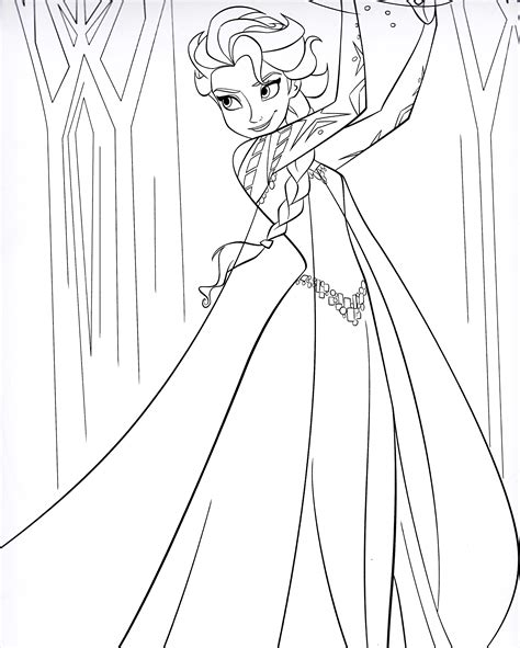 frozen coloring pages elsa online colorir frozen colorir frozen