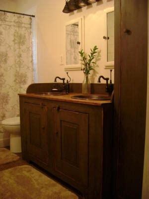 primitive bathroom vanities 25 best ideas about country bathroom vanities on