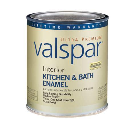 Shop Valspar Ultra Premium 1 Quart Interior Flat Enamel