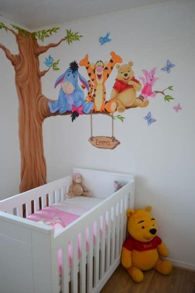 Kinderzimmer Gestalten Winnie Pooh by S 252 Sse Winnie Pooh Wandbemalung Im Kinderzimmer Winnie
