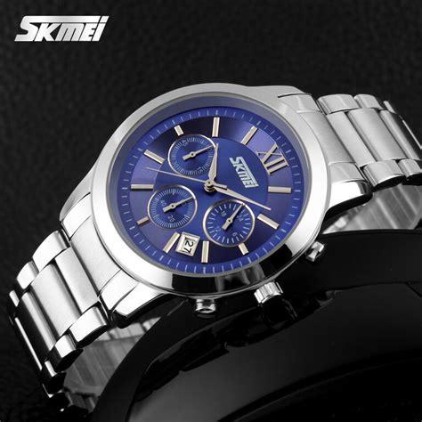 Skmei Casual Stainless Water Resistant Limited 4 skmei jam tangan analog pria 9097cs blue jakartanotebook