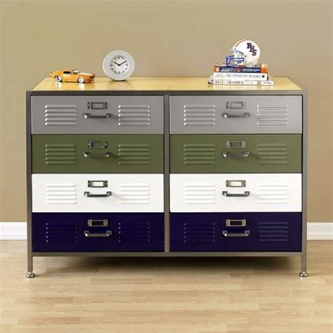 Double Drawer Dresser by Swissmiss Pbteen Locker Double Dresser
