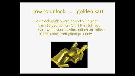 mario kart 7 how to get all golden parts