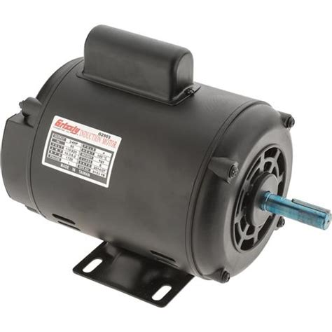 Pres Motor motor 3 4 hp single phase 1725 rpm open 110v 220v grizzly industrial