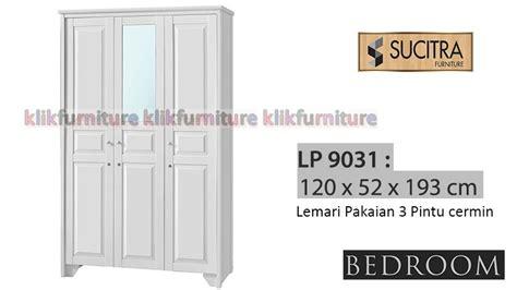 Lemari Pakaian Minimalis 2pintu Sucitra Lp 1522 lp 9031 sucitra lemari pakaian cermin 3 pintu agen termurah