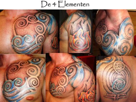 four elements tattoo dotwork 4 elements dotwork artist