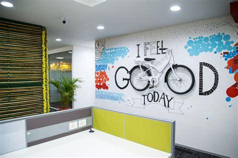office wall graphics  murals