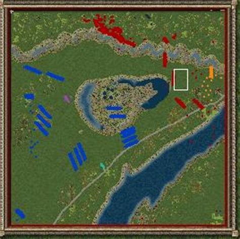 battle of thames river map strategy game battle maps the war of 1812