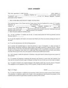 6 free printable rental agreements printable receipt
