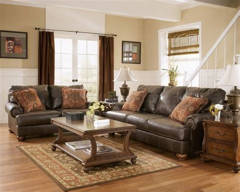 brown leather sofa decor dark brown leather sofa living room ideas www