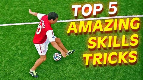 football skills tutorial skill how to get past a player top 5 insane football soccer skills to learn tutorial