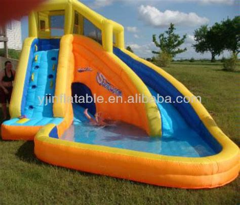 backyard blow up water slides best 25 inflatable water slides ideas on pinterest blow