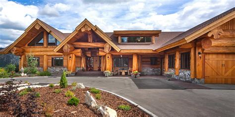 Handcraft Homes - handcrafted log homes mlled logs hewn logs