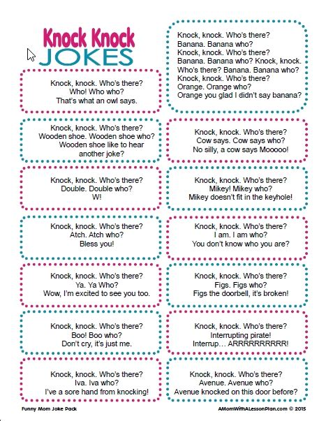 printable halloween knock knock jokes knock knock jokes for kids funny knock knock jokes