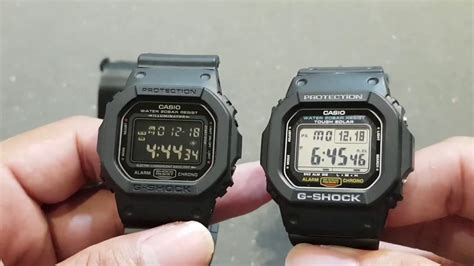 G Shock G5600 Not Dw5600 Dw6900 casio g shock dw 5600 ms vs g 5600 e compare