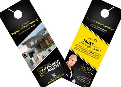 Best 25 Door Hanger Template Ideas On Pinterest Real Estate Door Hanger Templates