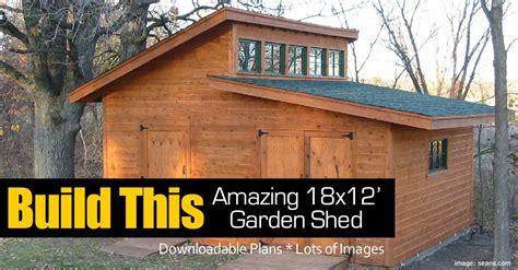 build  amazing  garden shed