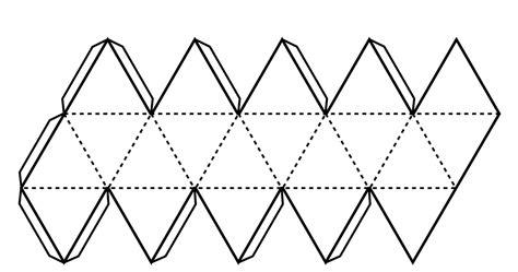 imagenes abstractas de tipo geometrico forma y color 2d 3d icosaedro plantilla