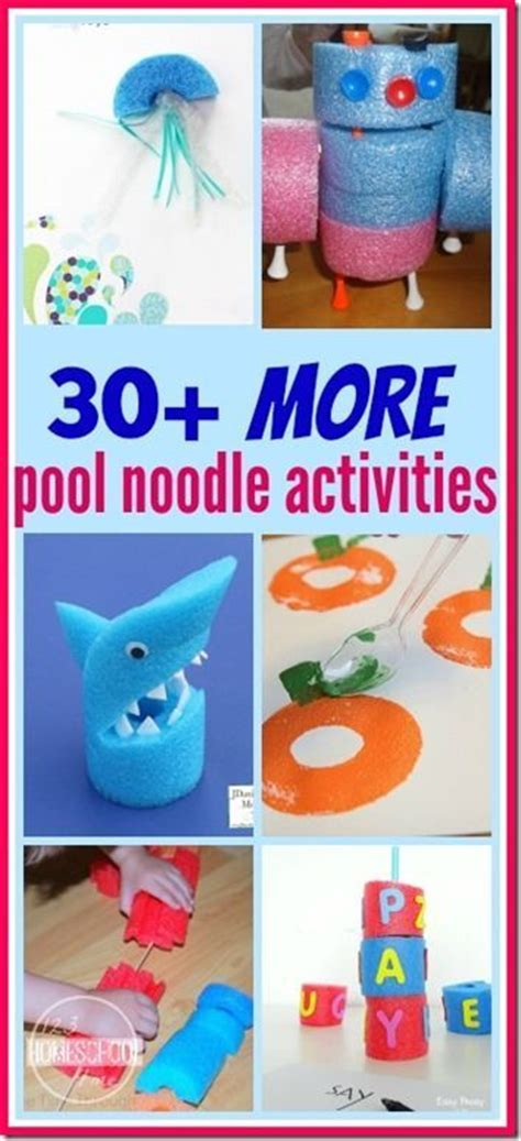 30 Best Creative Ideas For 30 more pool noodle activities for wow such creative ideas for all year from