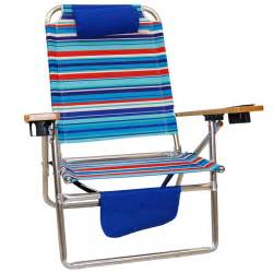 titan big fish hi seat aluminum folding beach chair