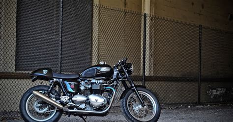 motogrotto vintage custom cafe racer bike build for bmw triumph thruxton cafe racer by dcc return of the cafe racers