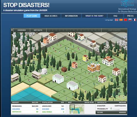 Earthquake Game | sed earthquake games
