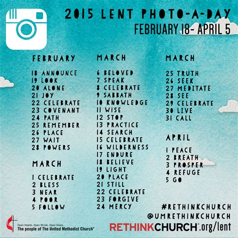 my lenten journey 2018 daily challenges questions and quotes to guide you through the holy season of lent books 2015 lenten photo a day project