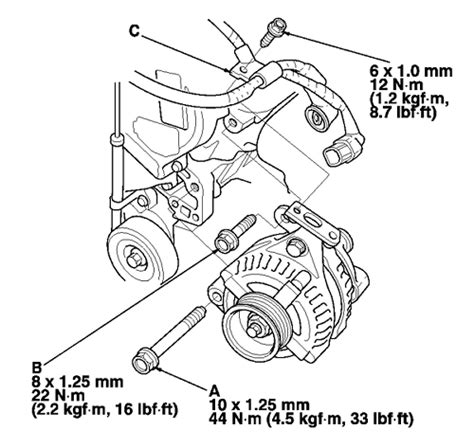 honda pilot alternator wiring diagram wiring diagram