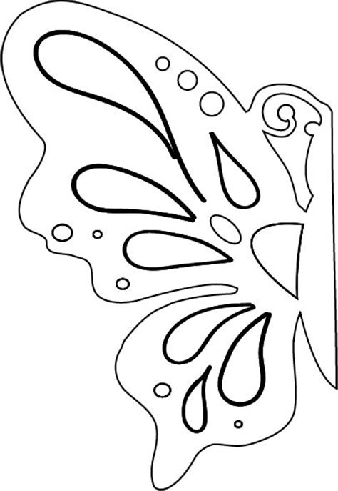 free patterns and ideas butterfly cut out