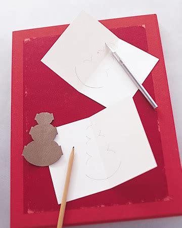 martha stewart card templates glittered pop up cards martha stewart