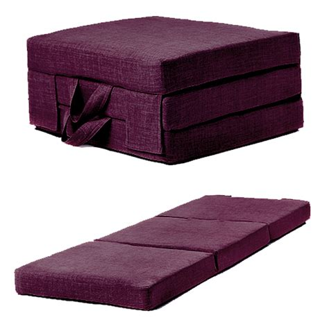 Foam Futon by Fold Out Guest Mattress Foam Bed Single Sizes