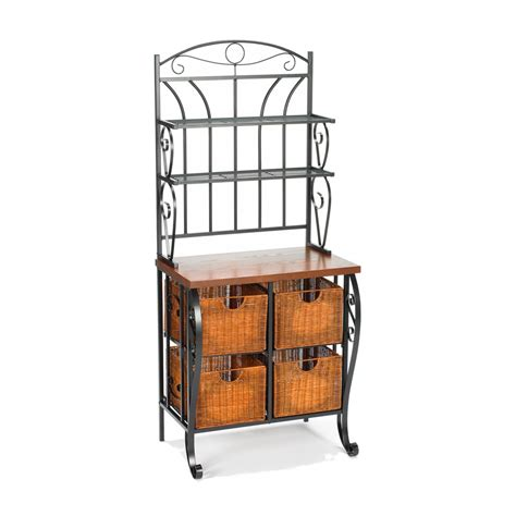 Bakers Rack by Kitchen Islands Bargain Superstore Net Search Results