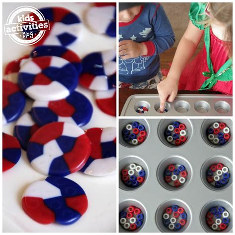 fourth of july home decorations fourth of july melted pony bead decor