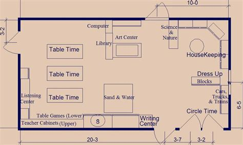 pre k classroom floor plan pre k classroom layout preschool classroom layout image