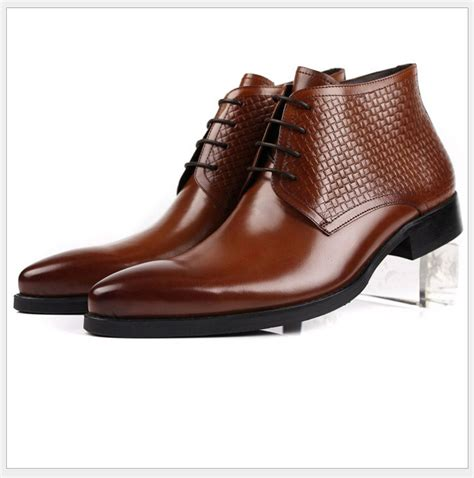 dress boots for on sale 2015 sale handmade luxury mens ankle dress boots shoes