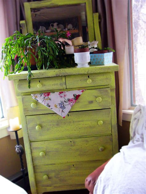 antique green painted furniture images