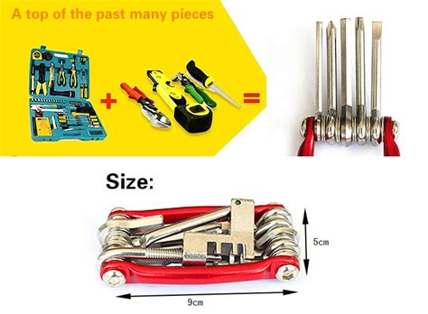 21 In 1 Obeng Set Kunci T Tools Rt 1621 dropship 11 in 1 multi functional cycling mtb repair tool to sell chinabrands