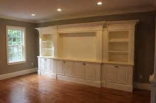 Window Seat Bookshelves by Entertainment Center Traditional Family Room Boston