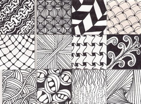 zentangle pattern gallery the gallery for gt simple zentangle patterns step by step