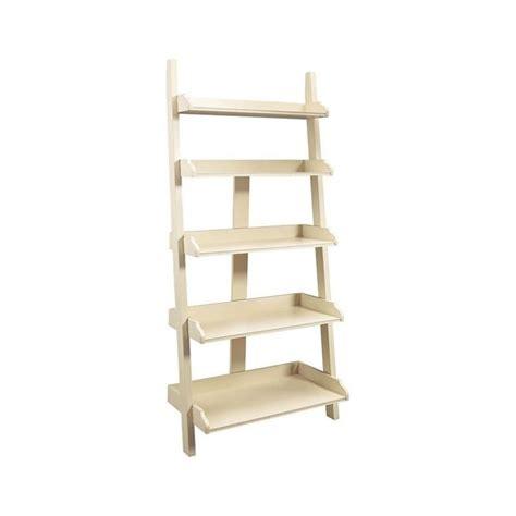 Buttermilk Shelf by American Drew Camden Ladder Wall Storage Bookcase In